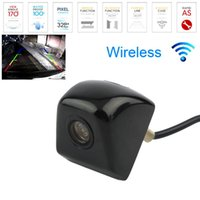 Wholesale New Waterproof CCD Universal Wireless Car Rear view Camera degree BackUp Reverse Parking Front Side View Camera Night Vision