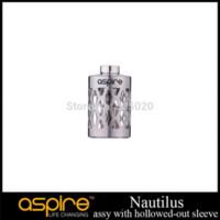Original Aspire Nautilus Assy avec creux-manches en acier inoxydable de remplacement Tube en acier pour Nautilus Clearomizer industrie tube en acier