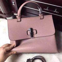 Wholesale Excellent Lady fashion Ori genuine leather medium bag tote handbag