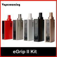 add game - Authentic Joyetech eGrip II Kit Newly Added with Game Mode with Multiple LED Colors ecigarette Joyetech eGrip kit VS cuboid mini kit