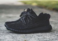 Cheap With Box Adidas Yeezy 350 Boots Men Women Running Shoes Fashion Yeezys 350 Hot Sale Pirate Black Red Sneakers Free Shipping Size 5-11.5