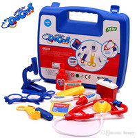 Wholesale Children s play toys educational simulation medicine cabinet Doctor playset Gifts for girls