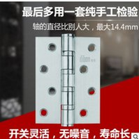 bearing hinges - The new stainless steel wire drawing flat open hinge GB X3X3 true bearing hinge manufacturers spot