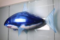 Wholesale Remote Control Fly Fish Shark Radio Control Toys Helium Balloon Children Outdoor Toys
