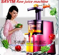 bean curd machine - SAVTM slow citrus low speed juicer can make bean curd ice cream low speed extrusion of natural vegetable juice raw juice machine