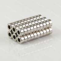 Wholesale Neodymium magnets ring x3mm hole mm n50 rare earth industrial strong NdFeB magnets