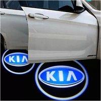 Wholesale High quality KIA K2 K3 K3S K4 K5 Cerato Forte Soul Car door Projection light fourth generation car welcome light V W