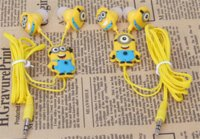 Wholesale 2016 Me Minions Headphone Yellow headphones fashion good accord with the trend todayMen women and children all love