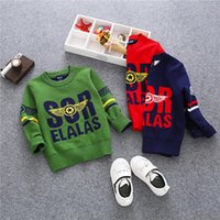 Wholesale 5 pieces new kids cool fashion sweaters cm height child pullover o neck boyes knits sweater hotsale cloth