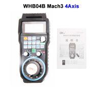 Wholesale Wireless USB MACH3 MPG WHB04B MHZ Electronic Handwheel Axis CNC Mach3 hand wheel for CNC Router Machine