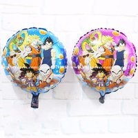air dragon - set foil balloons Anime Dragon Ball balloon Dragonball air balloon Saiyan Vegeta Battle State for birthday boys toys