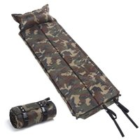 Wholesale Self Inflating Mat Pad Mattress Pillow Sleeping Bed Camping Hiking Picnic
