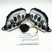 Wholesale Motorcycle High Quality Manufaction Accessories LED Front Turn Signals Light Fit Hayabusa GSXR1300 QJC0302
