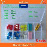 Wholesale Good Original S stores Auto fuse Kit with transparent box car fuses sets automobile fuses for Buick etc