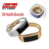 best french band - 2016 Bluetooth SmartWatch D8 Health Bracelet Wristband Fuel Band for iPhone Samsung Android Phones D8 for lady women smart watch best