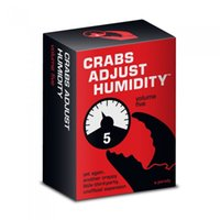 Wholesale Crabs Adjust Humidity Vol Five CONTAINED VERY POPOLAR CAH CARD GAME ADJUST HUMANITY TRADING CARDS
