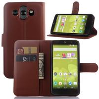 beat books - LG Joy F60 G4 Beat L50 L70 LG AKA pu leather case phone cover litchi grain folio book case with card slot