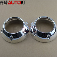 Wholesale Autoki hid projector lens shroud mini shroud high temp resistant GTI3 inches projector lens Koito Q5 Hella