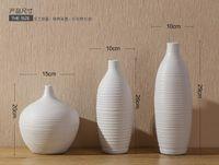 Wholesale floral white ceramic vase Jingdezhen home decorations modern minimalist fashion living room Decoration Ceramic Vase qeramike Vase Keramik