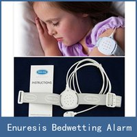 Cheap 2016 New Arrival Brand Security Protective Sleeping Enuresis Bedwetting Sensor Alarm For Kids Children Baby Have A Good Dream
