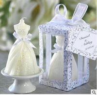 Cheap Art Candle Bride Wedding Dress Candle Best Weddings  dress candle