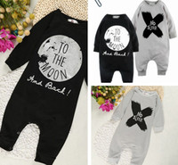 abc christmas - 2016 INS New long sleeve Baby romper suit Cotton ABC letter NO SLEEP Printing rompers boys girls costumes Toddlers bodysuits Free DHL Ship