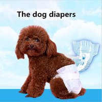 Wholesale Pet diapers monolithic Dog physiological pants pet sweat pants teddy menstrual pants Urine pad diapers diapers
