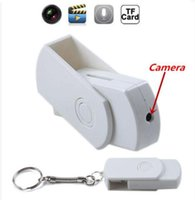 Wholesale Portable HD Mini DVR SPY USB DISK Hidden Camera Motion Detector Video Recorder mini USB Flash Drive camera