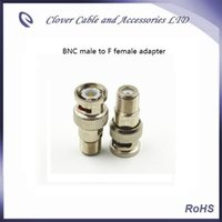 Wholesale Good Quality and BNC male to F female CATV Connector BNC adapter