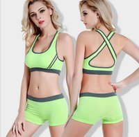 Seamless age active wear - Factory promotional Nylon elastane material and adult age group sexy fitness wear sport bra for lady