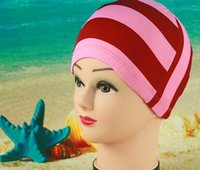 Wholesale Variety of multicolored cloth swimming cap swimming cap Adult children swimming cap swimming cap swimming cap printing necessary