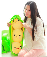 best quality seeds - Pea Cushions Shopping Moose Figures Toys Art cm Three seeds Lifelike image Lovely smile emoji best quality