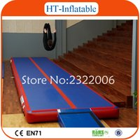 Wholesale High Quality x2x0 m Inflatable Tumble Track Inflatable Gym Mat Inflatable Air Track Mat For Sale