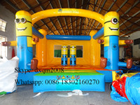 Wholesale 2016 new arrival inflatable bouncer castle inflatable jumping bouncer for kids indoor and outdoor playground
