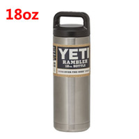 aluminum sports bottle - 18oz Yeti Outdoor Sport Coolers Stainless Steel Vacuum Flask Bottle Car Cup Travel Mug R5G6Y3RGEC