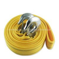 Wholesale 3 tons of meters double nylon tow rope car outdoor off road traction rope towing belt driving emergency preparedness