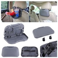 Wholesale New Car food tray folding dining table drink holder car pallet back seat water car cup holder hot selling