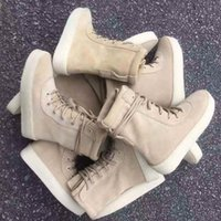Wholesale superior quality A couple of season Limited Edition generation coconut boots boots military fan import suede