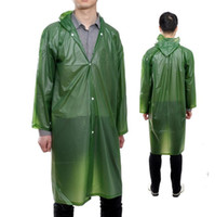 Wholesale FEELING WELL Disposable Raincoat One time High Quality One Size Fit Most with Hood Assorted Colors Fit for all