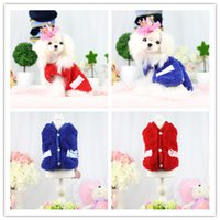 best choice clothes - Newest design best selling red blue color sizes for choice pet dog clothes for winter clothes super soft fabric for dog