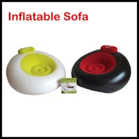 Wholesale Hot sale Enviromental protection PVC Outdoor Inflatable Chair Can suck floor Prevent movement Sofa chair DHL Free