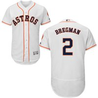 alex baseball - New Custom Houston Astros Mens Jersey Alex Bregman White Replica Flexbase Collection Baseball Jersey with Embroidery And Sewing Logos
