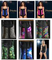 Wholesale 9 designs XS XL Womens Sport Latex Waist Cincher Vest Shapewear Bustiers Slimming Body Shaper Steel Boned Waist Trainer Corset D619