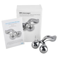 3D Full Boby Форма Массажер 360 градусов Поворот Y Форма роликовый массажер для лица Body Подъемное для удаления морщин панели солнечных батарей Водонепроницаемый массажер