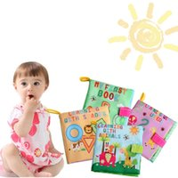 alphabet pictures color - 12 Brand New Soft Cloth Baby Books Bright Color Pictures for Kids TY02118