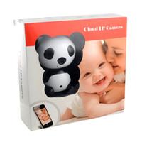 angle baby monitor - HD X P Wireless Video Baby Monitor Night Vision Cute Panda Cloud Network IP Camera with Two way Intercom Wide Angle Lens