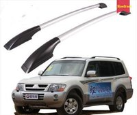 Wholesale High quality aluminum alloy luggage stack roofrack crossbar Luggage roof rack Max bear KG for Mitsubishi Pajero V73
