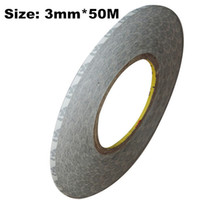 Wholesale Rolls mm M M Double Sided Adhesive Tape for Phone LCD Screen Repair LED Strip Panel Joint Hi Temp Resist