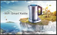 Wholesale Smart Electric Kettle WiFi Electric Kettle Temperature Control with Via APP in your phone Base on GS standard VDE plug