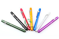 Wholesale Pen light Penlight Torch Doctor Nurse Medical EMT Surgical Emergency First Aid Flashlight Torch Light